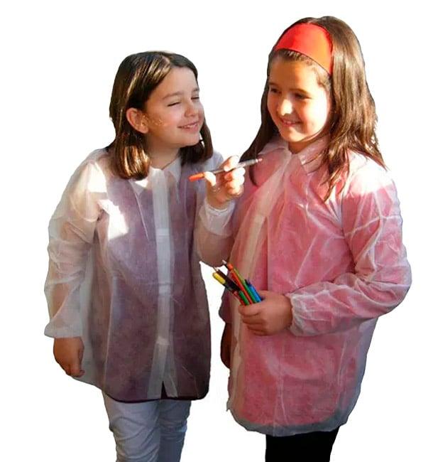 Blouse Enfant PP 35gr.Velcro et Sans Poches (1 Uté)