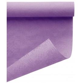 Nappe en Papier en Rouleau Lilas 1,2x7m (25 Utés)