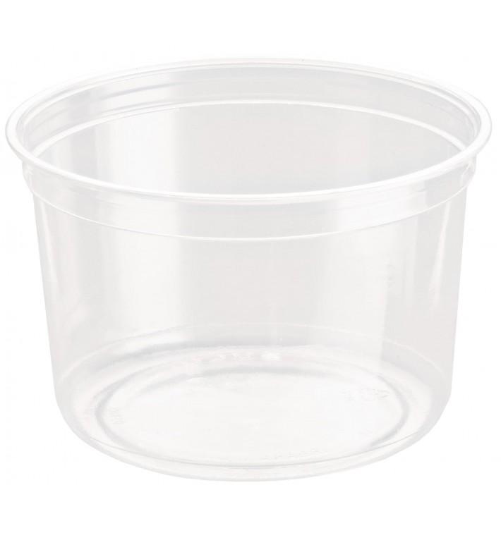Récipient en Plastique rPET DeliGourmet 16Oz/473ml (50 Utés)