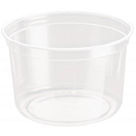 Récipient Plastique rPET DeliGourmet 16Oz/473ml (500 Utés)