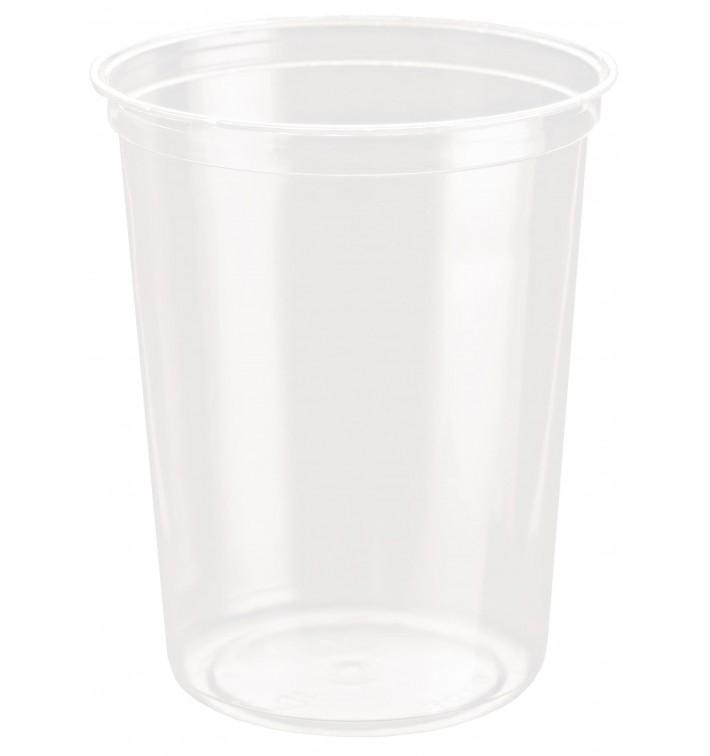 Récipient Plastique rPET DeliGourmet 32Oz/946ml (50 Utés)