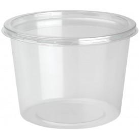 Récipient Plastique rPET DeliLite avec Couvercle 24,6 Oz/700ml (50 Unités)