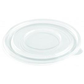 Couvercle Plat pour Bol Plastique PET Ø260mm (50 Utés)