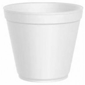 Pot en Foam Blanc 20 OZ/600ml Ø11,7cm (500 Unités)