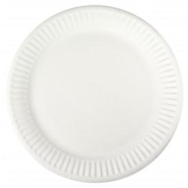Assiette en Papier Blanc Ø18,5cm (100 Unités)