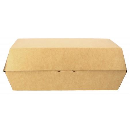Emballage pour Sandwich Kraft 20x10x4cm (25 Unités)
