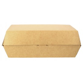 Emballage pour Sandwich Kraft 20x10x4cm (200 Unités)
