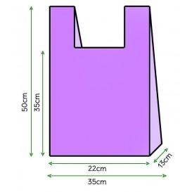 Sac à Bretelles 35x50cm Violet (5000 Unités)