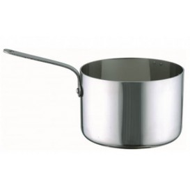 Mini Cassserole en Acier Inoxydable Ø7x4,5cm (1 Uté)