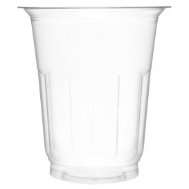 Coupe Plastique PET Cristal 235ml Ø8,1cm (60 Unités)