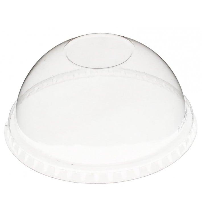 Couvercle Dôme Fermé PET Cristal Ø9,3cm (100 Unités)