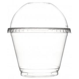Couvercle Dôme Fermé PET Cristal Ø9,3cm (1000 Unités)