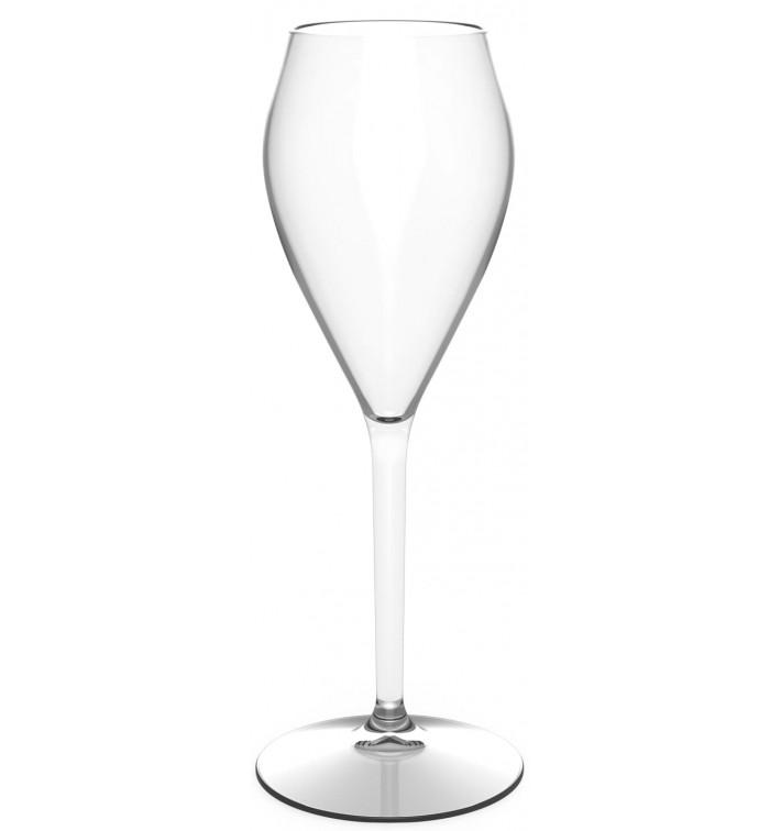 Flûte Réutilisable pour Vin Tritan Transp. 160ml (6 Unités)