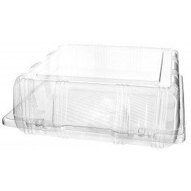 Boîte à charnière Pour Pâtisserie PET 22x22x8cm (20 Utés)