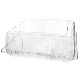 Boîte à charnière Pour Pâtisserie PET 22x22x8cm (220 Utés)