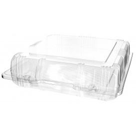 Boîte à charnière Pour Pâtisserie PET 20x20x6cm (20 Utés)