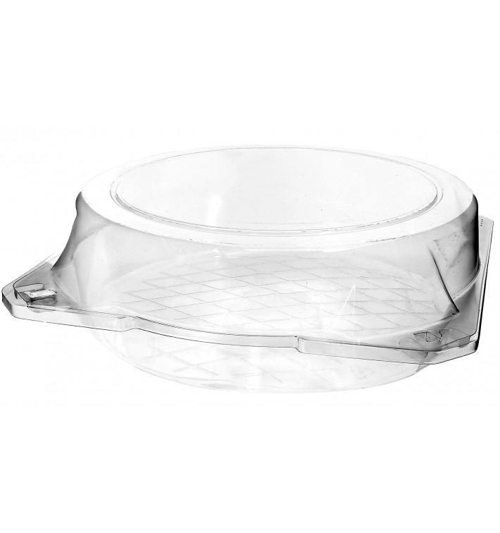 Boîte à charnière Pour Pâtisserie PET Ø23x8cm (23 Utés)