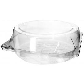 Boîte à charnière Pour Pâtisserie PET Ø20x8cm (23 Utés)