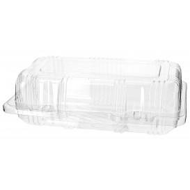 Boîte à charnière Pour Pâtisserie PET 18x9,5x6cm (20 Utés)