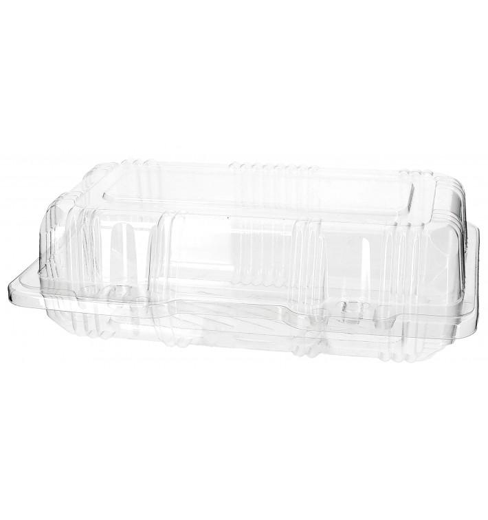 Boîte à charnière Pour Pâtisserie PET 18x9,5x6cm (220 Utés)