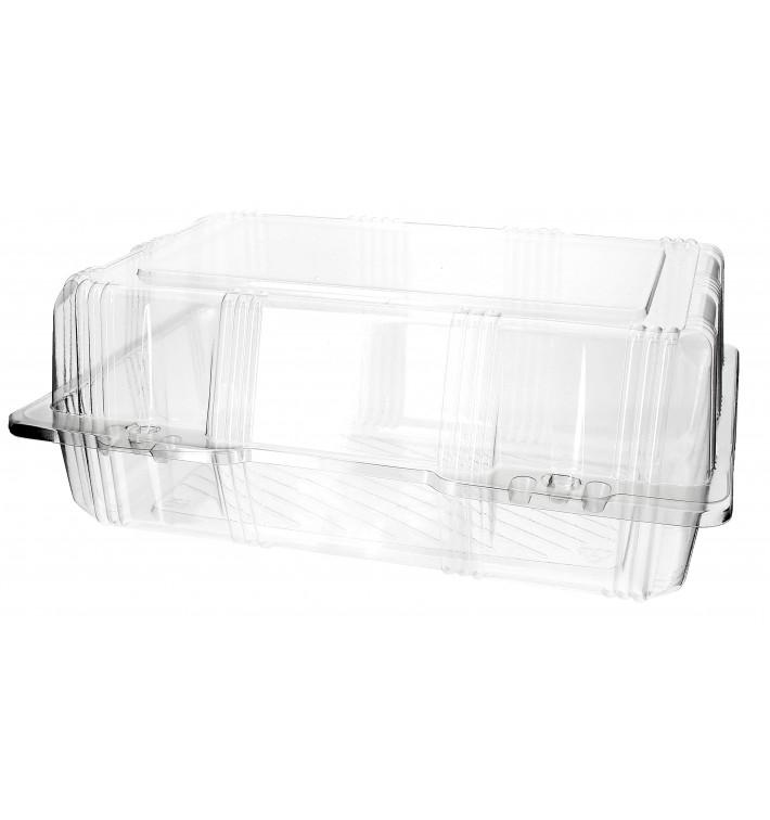 Boîte à charnière Pour Pâtisserie PET 25x17x10cm (220 Utés)