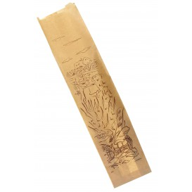 """Sac Papier Kraft """"Siega"""" 12+6x50cm (1000 Utés)"""