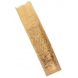 """Sac Papier Kraft """"Siega"""" 12+6x58cm (250 Unités)"""