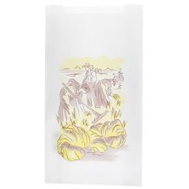"""Sac Papier Blanc """"Siega"""" 18+7x32cm (250 Unités)"""
