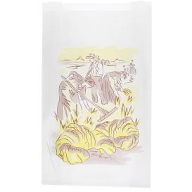 """Sac Papier Blanc """"Siega"""" 22+7x36cm (250 Unités)"""