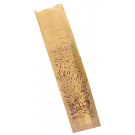 """Sac Papier Kraft """"Siega"""" 9+5x32cm (1000 Unités)"""