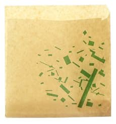 Sachet Papier Ingraissable Ouverture Bilatérale 15x15cm (250 Utés)