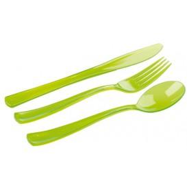 Couverts Fourchette, Couteau, Cuillère Vert (1 Uté)