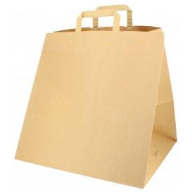 Sac en papier avec Anses Boîte Pizza 80g 37+33x32 cm (125 Unités)