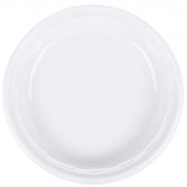 """Assiette en Plastique PS """"Famous Impact"""" Blanc Ø280mm (500 Unités)"""