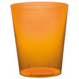 Verre Plastique Moon Orange Transp. PS 350ml (200 Unités)