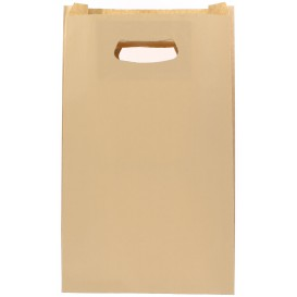 Sac en papier Hawanna Anses Découpées 24+7x37cm (250 Utés)
