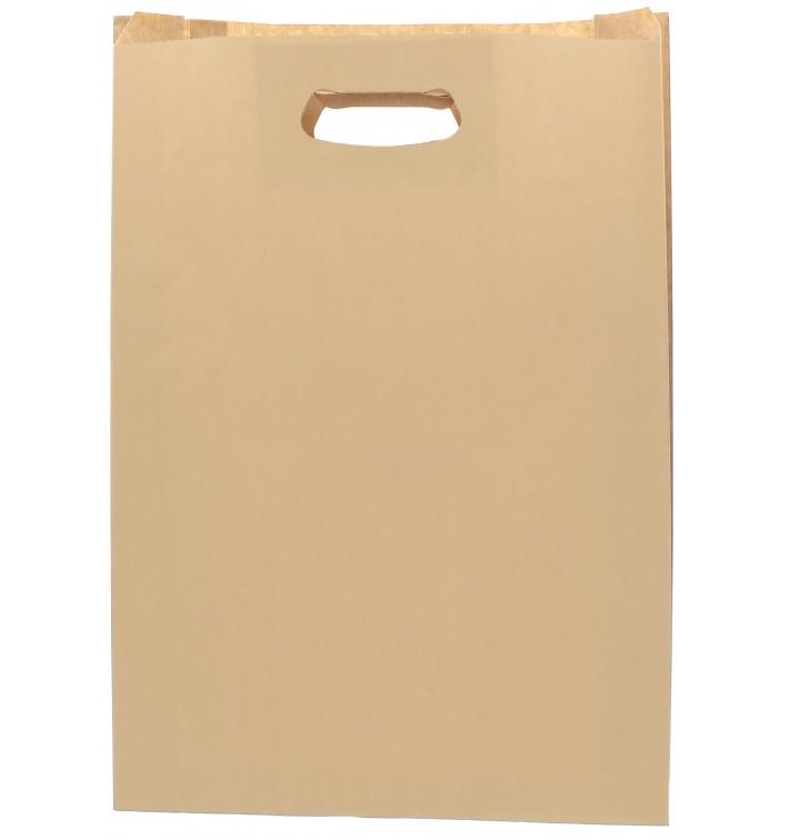 Sac en papier Hawanna Anses Découpées 31+8x42cm (250 Utés)