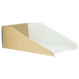Emballage en Carton pour Gaufre 16x10cm (800 Unités)