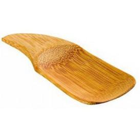 Cuillère Bambou Dégustation 10x4cm (24 Utés)
