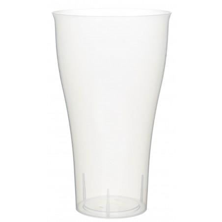 Verre Plastique PP Transparent 430ml (15 Unités)