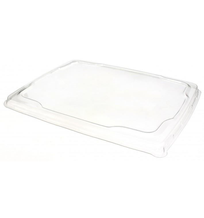 Couvercle Plat Plastique pour Plateau 316x265mm (25 Unités)