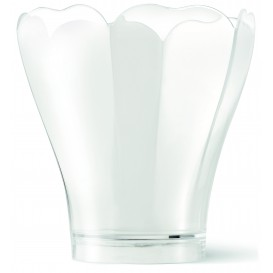 "Verrine Dégustation PS ""Tulipa Lily"" Transp. 160ml (40 Utés)"
