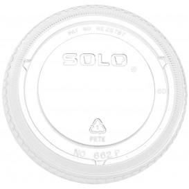 Couvercle Plat Fermé PET Cristal Ø9,8cm (1000 Utés)