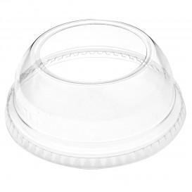 Couvercle Dôme Ouvert PET Cristal Ø9,2cm (1000 Utés)