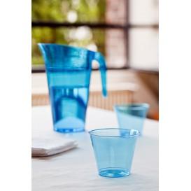 Carafe Plastique Turquoise Réutilisable 1.500 ml (1 Unité)