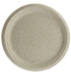 Assiette en Son de Blé Naturel Ø26cm (800 Utés)