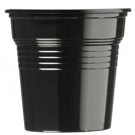 Gobelet Plastique PS Noir 80ml Ø5,7cm (1500 Utés)