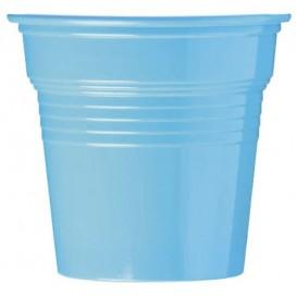 Gobelet Plastique PS Bleu Clair 80ml Ø5,7cm (50 Utés)