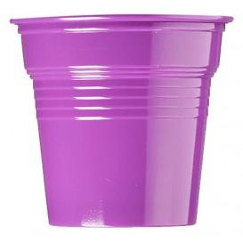 Gobelet Plastique PS Violet 80ml Ø5,7cm (50 Utés)