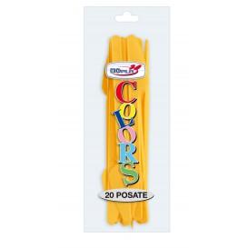 Couteau Plastique PS Mangue 175mm (600 Unités)
